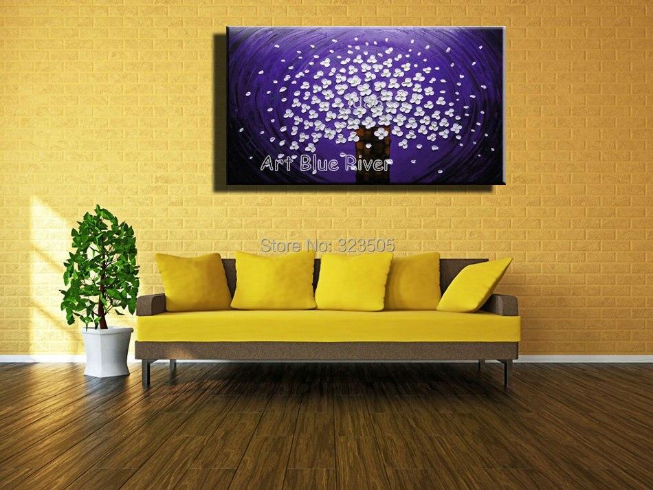 Amazing Purple Wall Art Canvas Ideas - Wall Art Design ...