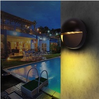 220V 110V Modern Design Outdoor Wall Lamp ip65 7W LED Step Light Pathway Wall Corner Lamps LED Stair Light