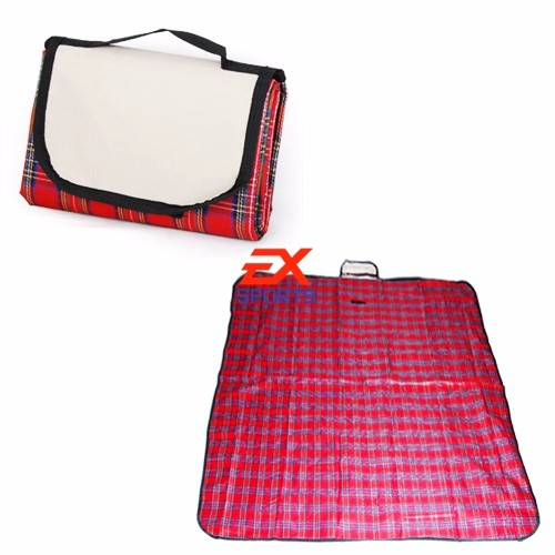 Extra Large Waterproof Picnic Blanket Rug Travel PetDog Caravan Camping Fleece (5)