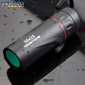 Image 1 - HD Optical 30 x 25 Monocular Zoom Telescope Low Night Vision Waterproof Mini Portable 7X Focus Telescope for Travel Hunting