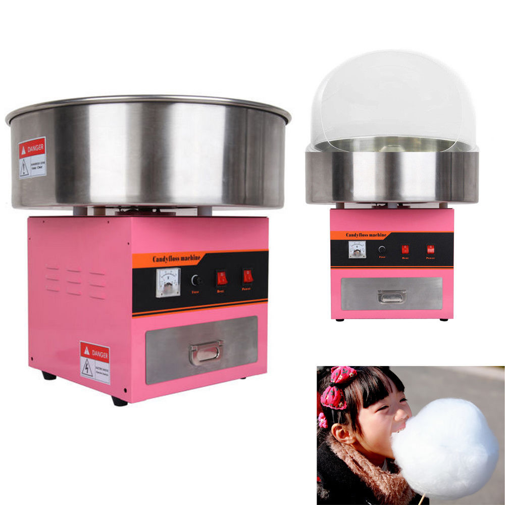 (Ship from Germany) Candy Floss Machine Cotton Candy Maker Electric cotton candy machine / cover candy