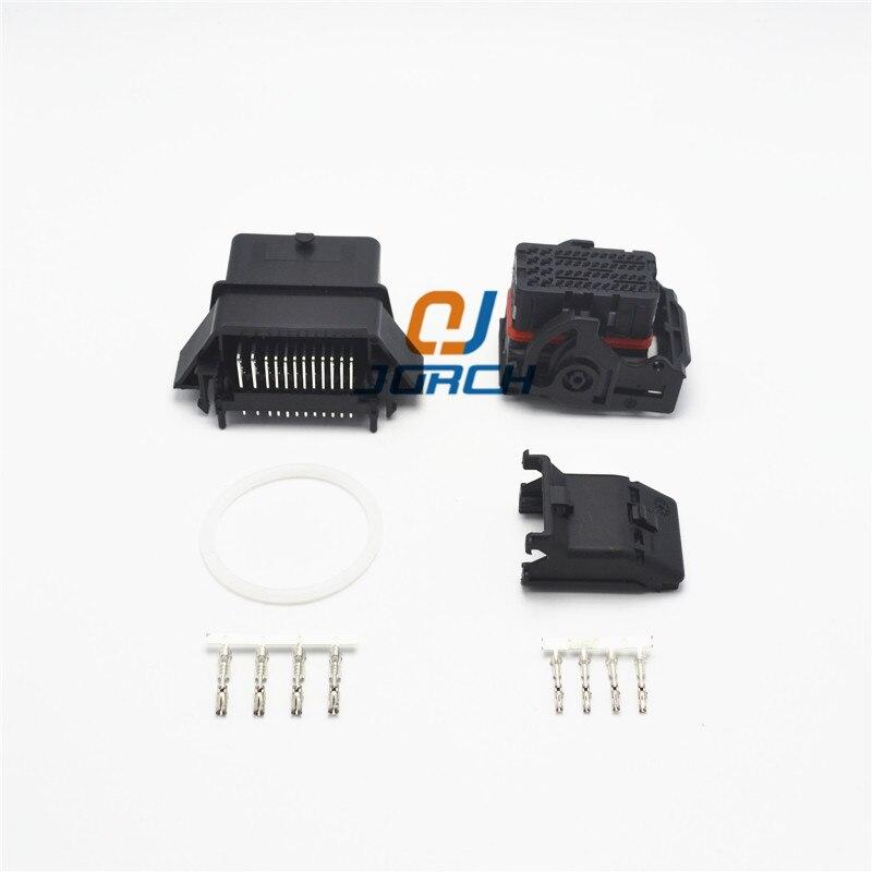 48 pin way molex electrical wire harness ecu connector sets 0366380002 male female plastic automotive plug socket 0643201311|pcb wire connector|plug connector|pin wire connectors - title=