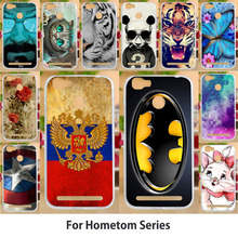 Anunob Case For Homtom HT50 S16 S12 S9 Plus S8 HT37 HT30 HT27 HT26 Covers Batman Cute Animals Patterns Painted Flags
