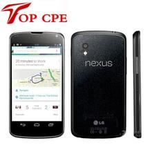 E960 Original Unlocked LG Nexus 4 E960 3G Wifi GPS 8GB/16GB ROM 2GB RAM 8MP Camera 4.7'' Android Smartphone Refurbished phone