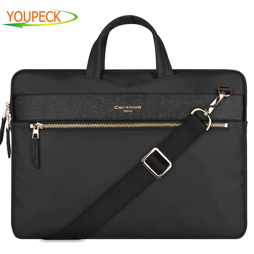 Cartinoe Laptop Shoulder Bag for MacBook Air 11 Pro 13 15 14 15.4 inch Computer Sleeve Case Messenger Bag Carrying Case Handbag laptop bag bolsa feminina women messenger bags sac ordinateur 13 14 15 inch handbag leotop shoulder bag for macbook air pro