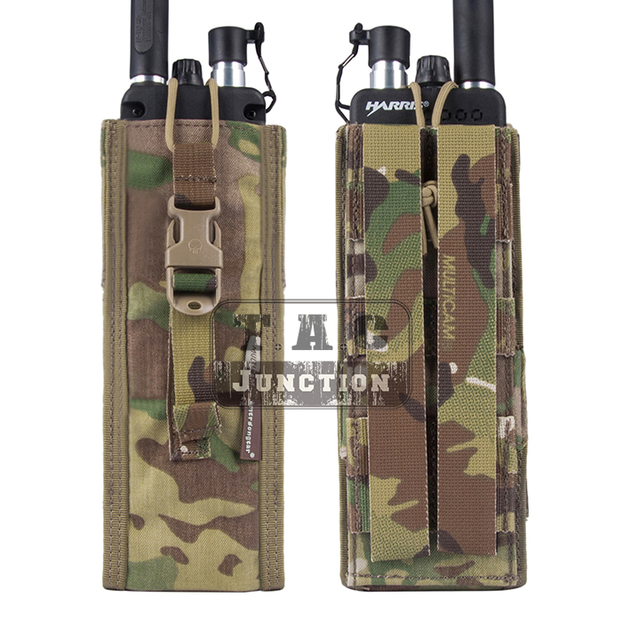 Image 3 - Emerson Tactical MOLLE Universal MBITR PRC 148 PRC 152 Radio Pouch EmersonGear Walkie Talkie Pocket For for Attaching RRV Vest-in Pouches from Sports & Entertainment