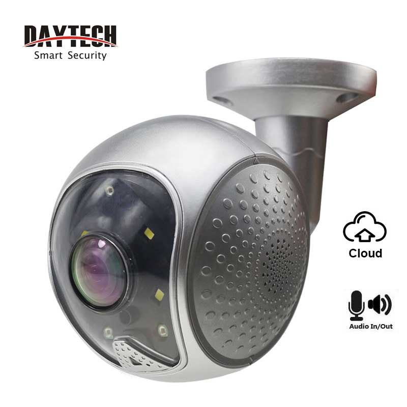 DAYTECH 1080P Home Security CCTV Camera WiFi Wireless IP Camera 2MP Cloud Waterproof IP65 Two Way Audio IR Night Vision in Surveillance Cameras from Security Protection