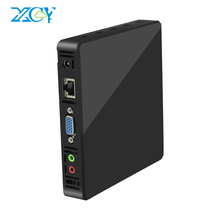 XCY Mini PC Intel Z8350 Windows 10 4G RAM 60GB SSD 300Mbps WiFi Gigabit Ethernet 2*USB3.0 3*USB2.0 HDMI VGA TV Box Pocket PC