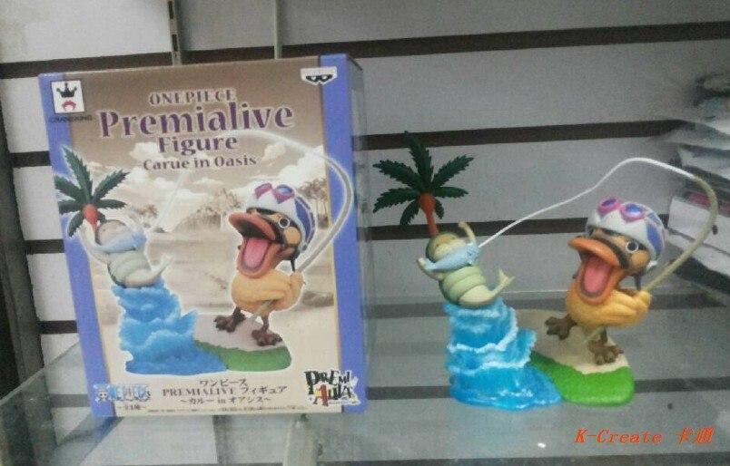 ФОТО July arrival free shipping 1pcs Japana anime one piece Karoo Duck fishing pvc figure toy tall 15cm.newest Karoo duck figure.