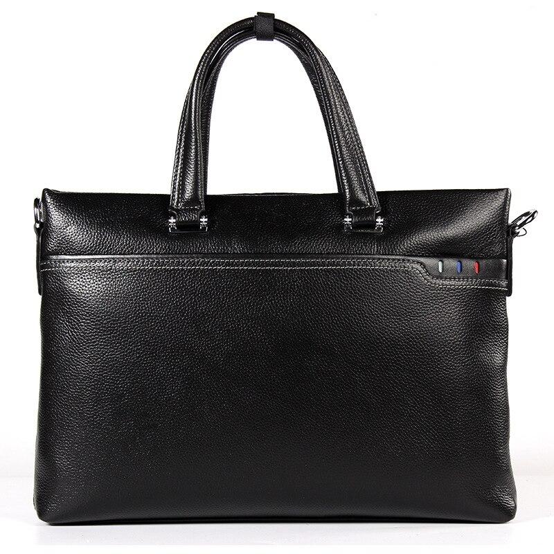 Classic Business Bag Men's Genuine Leather Briefcases Handbag