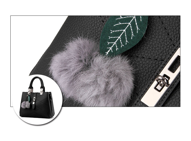 DIZHIGE Brand Fashion Fur Women Bag Handbags Women Famous Designer Women Leather Handbags Luxury Ladies Hand Bags Shoulder Sac 17