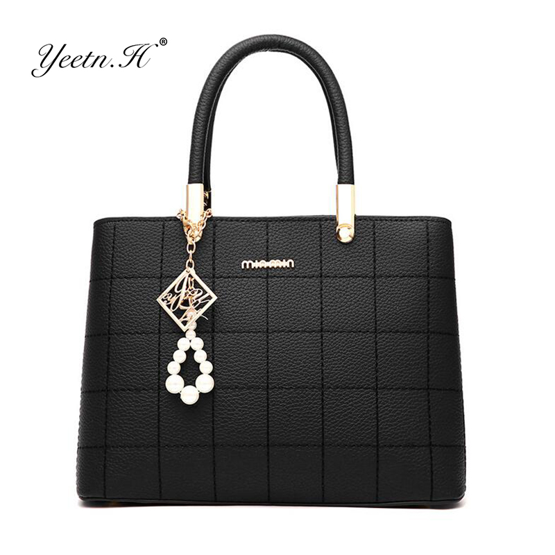 Yeetn.H Women Bag Simple Fashion Handbag Ladies  Shoulder Bags Women PU Leather Handbags Women Messenger Bag Tote Y908