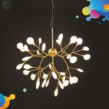 Firefly lámpara iluminación Heracleum nórdicos candelabros Led G4LED ...