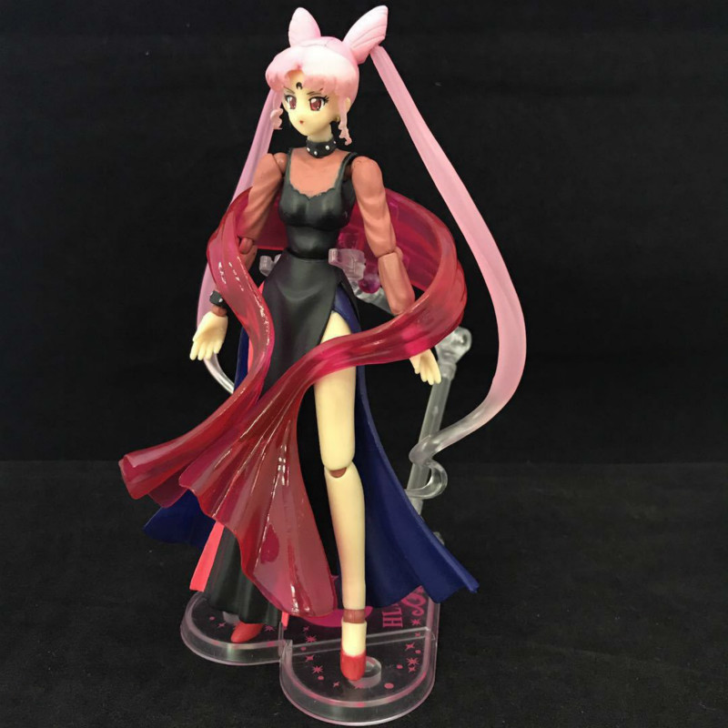 Sailor Chibi Moon Dark Princess Action Toy Figures Pvc Model Collection For Girls Lover Children Best Christmas/birthday Gift