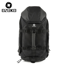 Ozuko new oxford backpack Mens computer backpacks Sports waterproof travel Large multi-functional mountaineering bag