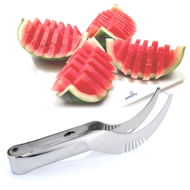 Stainless Steel Scoop & Watermelon Slicer Combo
