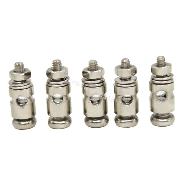 10pcs Adjustable Pushrod Connectors Linkage Stoppers D2.1mm D1.8mm D1.3mm RC Airplane Replacement parts Remote Control Toys