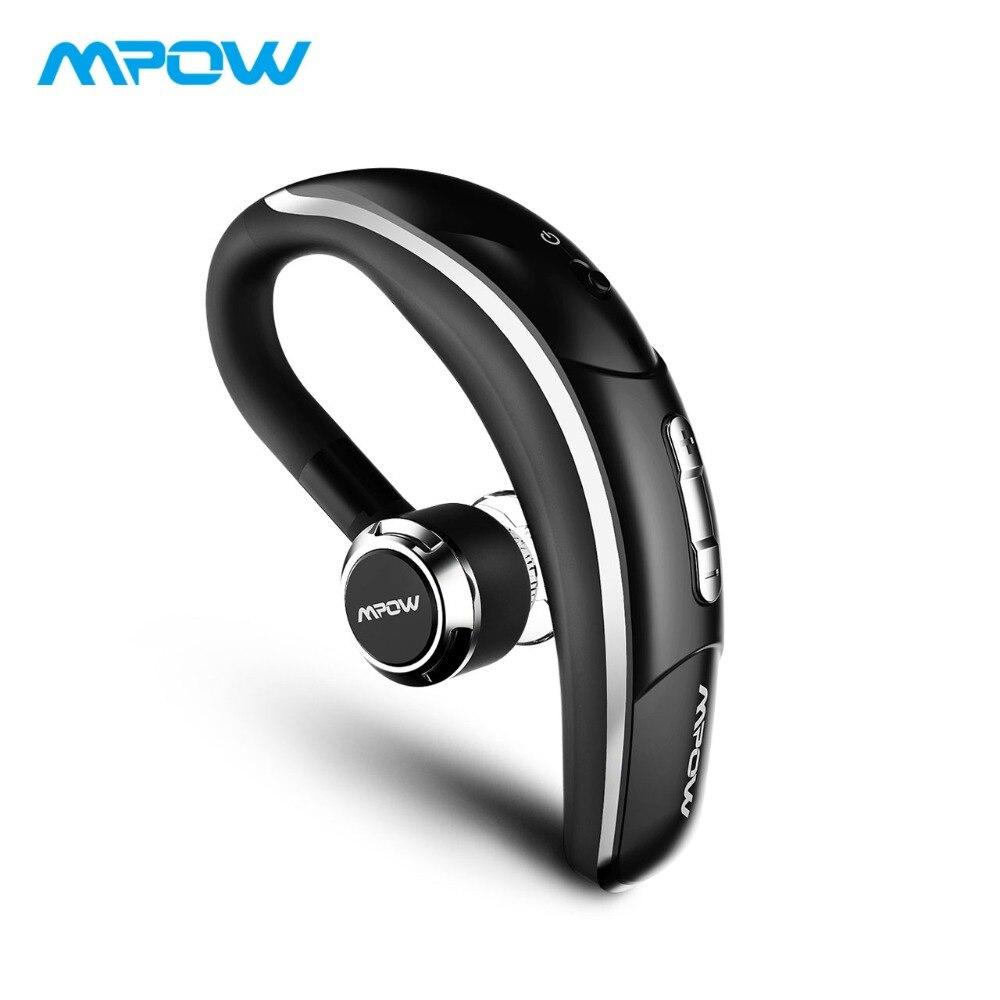Mpow 028A Bluetooth 4.1 Headphone Handsfree Wireless Earphone With Clear  Voice Capture Microphone Handy Business Wireless Earbud 0c84afa913e