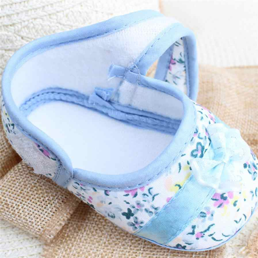 2019 düşük fiyat kaybı satış 2019 bebek kız yumuşak Sole ilmek baskı kaymaz rahat ayakkabılar yürümeye başlayan bebek ayakkabısı bebek ayakkabıları 20