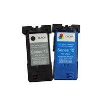 2pcs Printers Ink Cartridges Compatible For Dell UK332 UK852 Standard Ink Cartridge V105 All In One Inkjet Printer