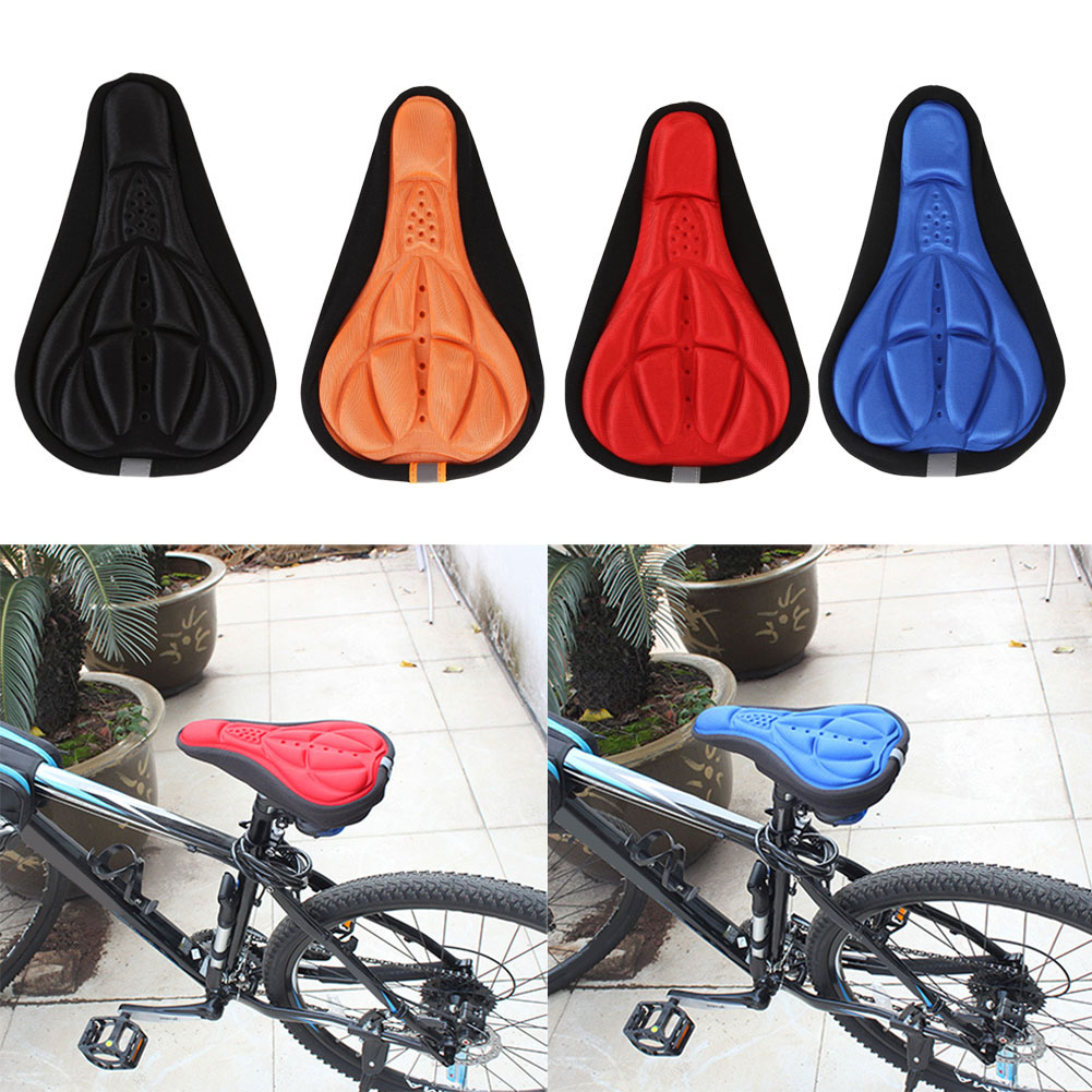 MTB Mountain Road Bike Saddle Bicycle Cycling Seat Mat Comfortable Cushion Soft Seat Cover Pad for Bicycle Parts Accessories