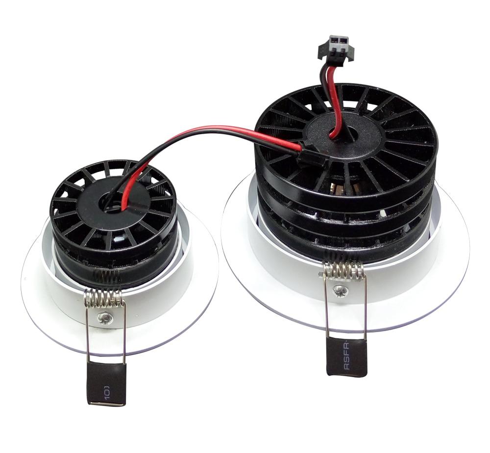 1 Stück Home LED Cob Epistar Einbau Downlight dimmbar 5W / 10W LED - Innenbeleuchtung - Foto 4