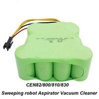UNITEK 12 V SC 3500 mAh Oplaadbare NI Batterij voor ECOVACS CEN82 800 810 830 Vegen robot Aspirator Vacuüm Cleaner
