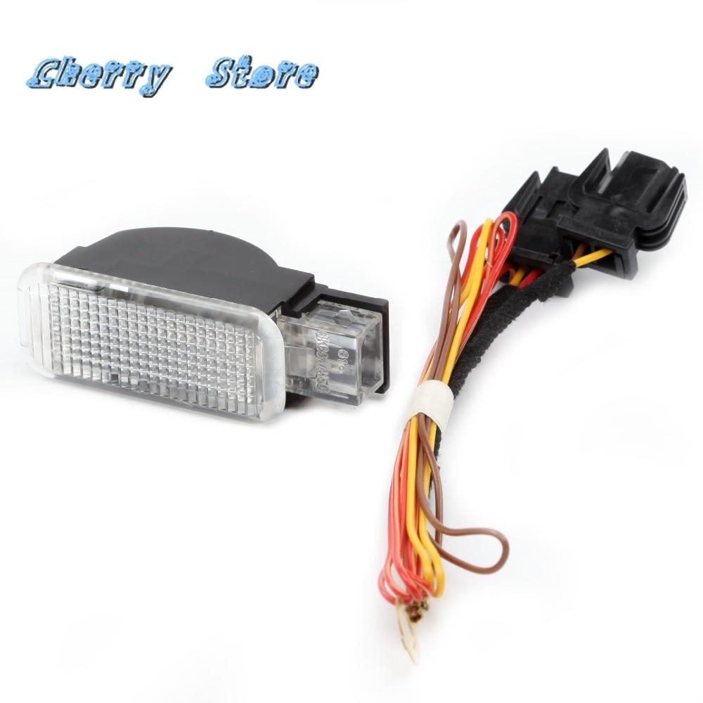 NOVA 4B0 947 415 UM luzes LED Glove Box Luzes Interiores Kit Chicote Para VW Phaeton Audi A3 A4 A5 a6 Allroad Quattro Q3 Q5 Q7 TT