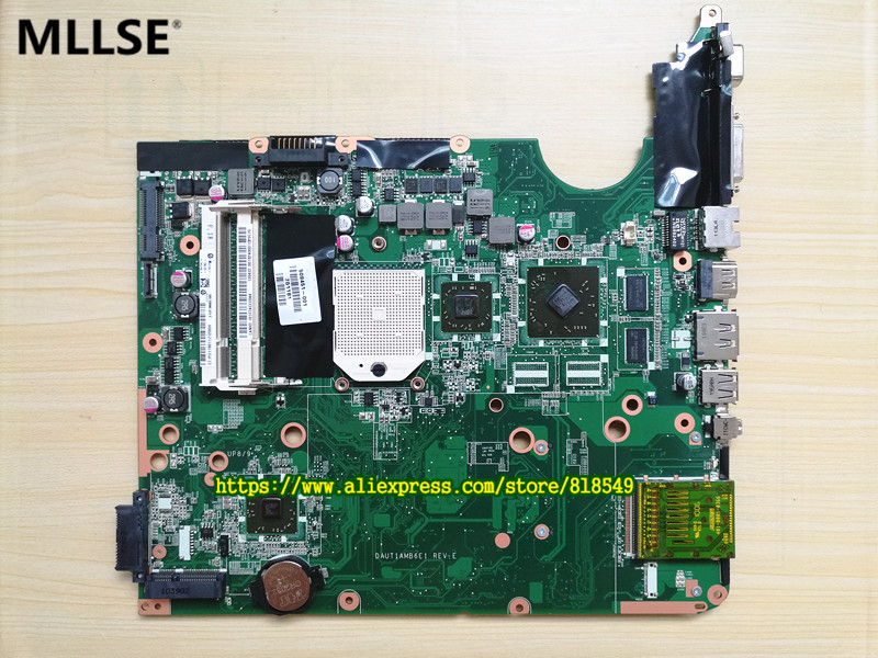509451-001 Main board Fit for HP PAVILION DV6Z-1000 DV6-1000 series laptop motherboard DDR2 Socket S1, 100% good working 645386 001 laptop motherboard for hp dv7 6000 notebook pc system board main board ddr3 socket fs1 with gpu