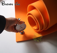 orange color no hole Eva foam sheet,cosplay children school handmade material Size 50cm*200cm