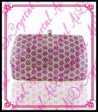 aidocrystal ziemlich neuen stil sexy frauen rosa Abendessen eveing kupplung handtaschen