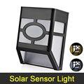 Solar LED Lámpara Impermeable IP65 Iluminación Al Aire Libre Luz Ultra Brillante LED Solar Lámparas de Pared Con Control de Luz Para El Jardín de Su Casa