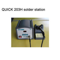 Superior Performance QUICK 203H Series Of Lead Free Soldering Station