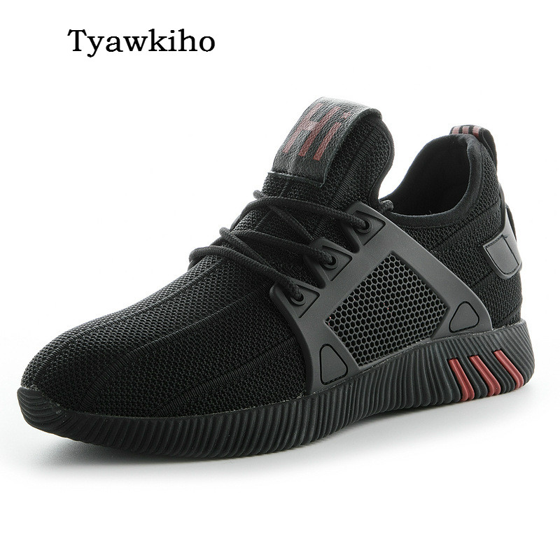Tyawkiho 2018 Spring Women Casual Shoes Lace Up Black Sneakers Women Comfortable Soft Bottom Women Shoes glowing sneakers usb charging shoes lights up colorful led kids luminous sneakers glowing sneakers black led shoes for boys
