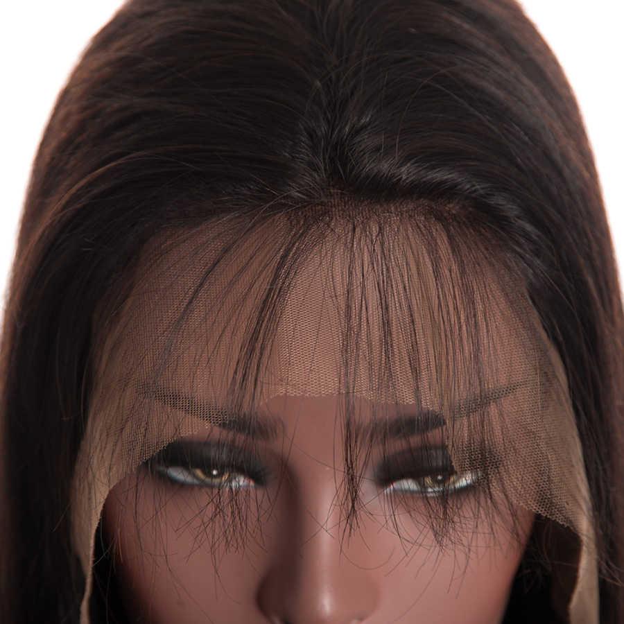 180% dichte Brasilianische Gerade 360 Spitze Frontal Perücke Pre Gezupft Mit Baby Haar Remy Spitze Front Menschliches Haar Perücken 100% menschliches haar