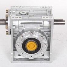 5:1-80: 1 червячный редуктор NRV030-VS двойной удлинитель 9 мм 90 градусов червячный редуктор скорости