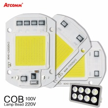 20W 30W 50W High Power Integrated COB Chip Lamp 110V 220V Matrix LED Spotlight DIY Projector Flood Light Outdoor Street Lampada