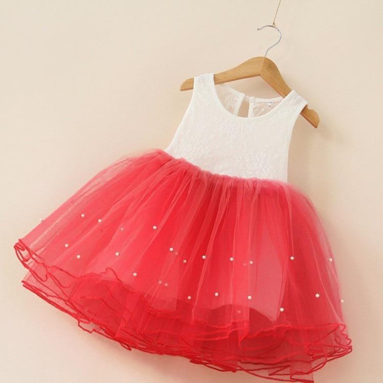 HTB15bAiadfvK1RjSszhq6AcGFXaq Summer Dresses For Girl 2018 Girls Clothing White Beading Princess Party Dress Elegant Ceremony 4 5 6 Years Teenage Girl Costume