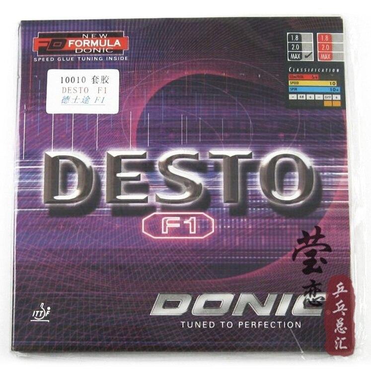 Original Donic desto f1 f2 f3 table tennis rubber table tennis racket racquet sports pingpong paddles