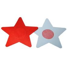 Latex Colorful Star Mamilla Sheath High Quality For Girls