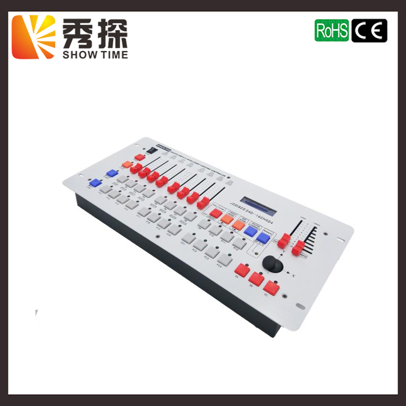 Freeshipping 240 DMX Controller Stage Lighting DJ Equipment DMX Console For LED Par Moving Head Spotlights DJ