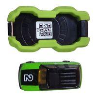 ABWE Melhor Venda brinquedo Criativo telefone AR aérea modelo de carro jogo de corrida esportes do telefone móvel verde