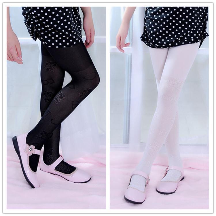 2015 fashion babies girls thin children pantyhose tights