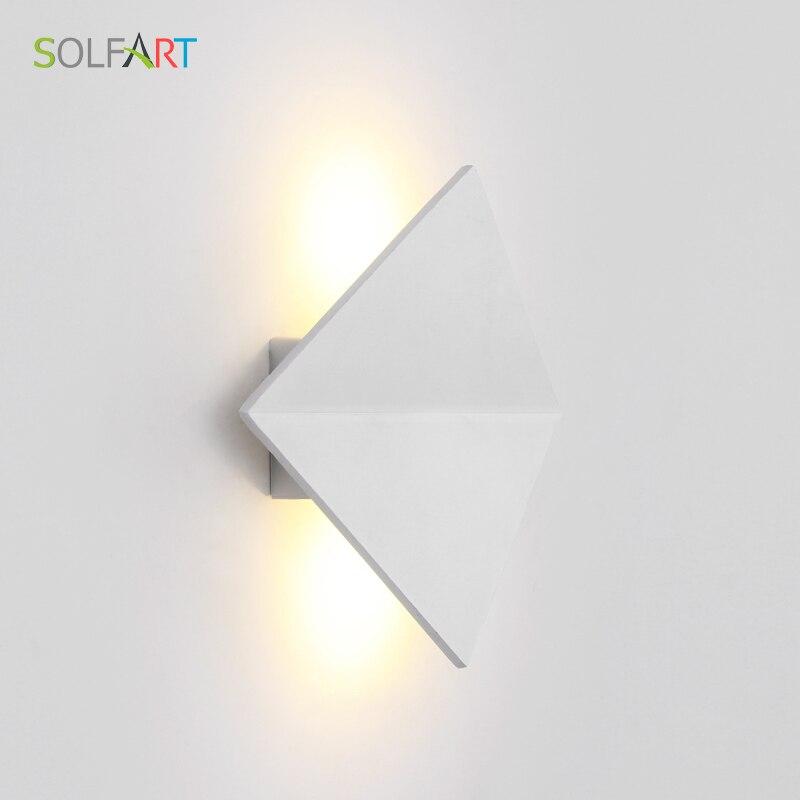 SOLFART sconces wall lamps white shade light wandlamp led light energy saving modern led light indoor for home led light A1520 e27 15w trap lamp uv spiral energy saving lamps purple white