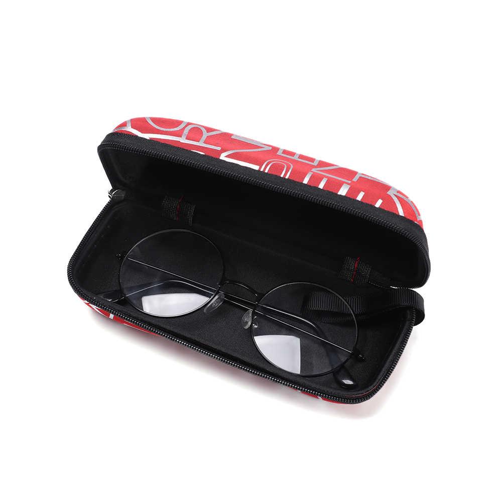 1 шт. 2019 модный футляр для солнцезащитных очков коробка для очков камень узор застежка-молния простой стиль портативный эва очки защитная коробка подарки