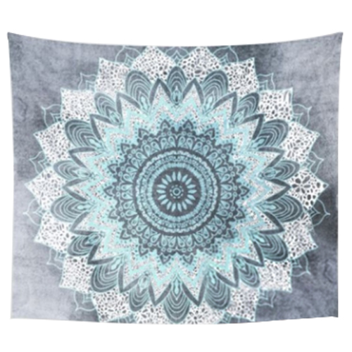 HOT GCZW 203 153cm Indian Mandala Tapestry Mandragora wind snowflakes Printing  Beach Towels Yoga