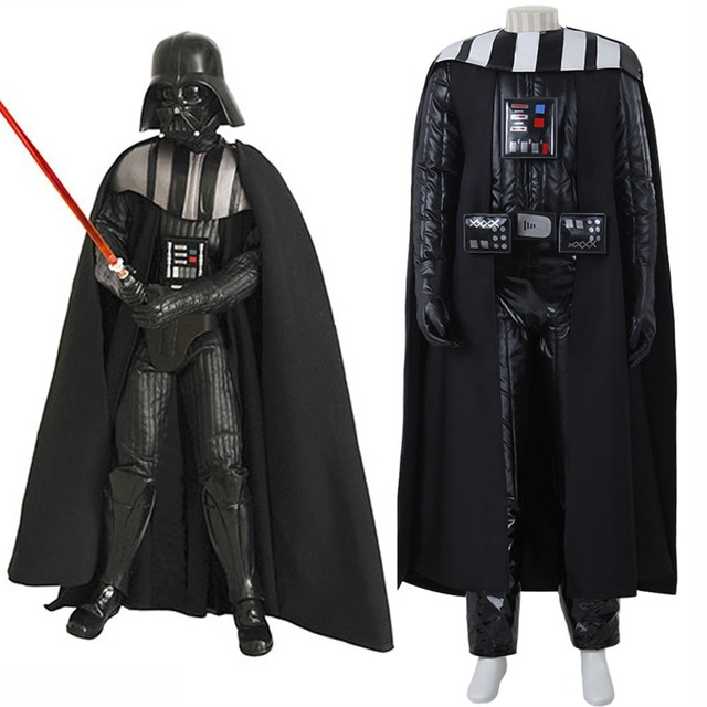 Anakin Skywalker Costume Star Wars Darth Vader Costume Children Adult Men  Movie Costume For Halloween Party Cosplay Costume