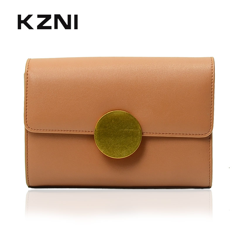 купить KZNI Genuine Leather Shoulder Strap Bags for Women Fashion Handbags 2017 Handbags Summer Bolso Mujer Sac a Main Femme 9005 по цене 3369.04 рублей