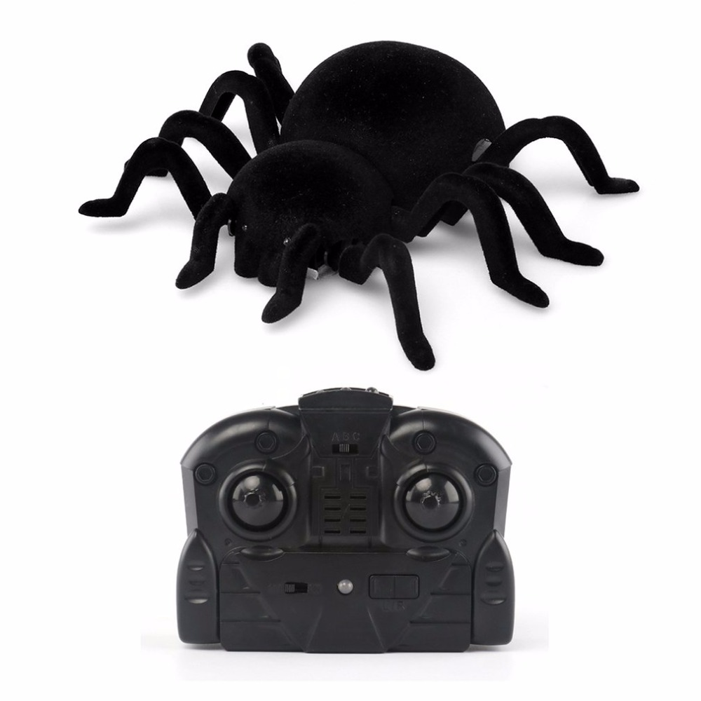 Image 5 - Radio Control RC Animals Simulation Furry Tarantula Electronic Halloween Spider Toy Children Kids Gift Halloween Festival Toys-in RC Robots & Animals from Toys & Hobbies