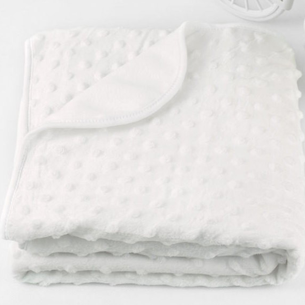 6 Colors 2019 New Baby Blanket Dot Infant Plush Receiving